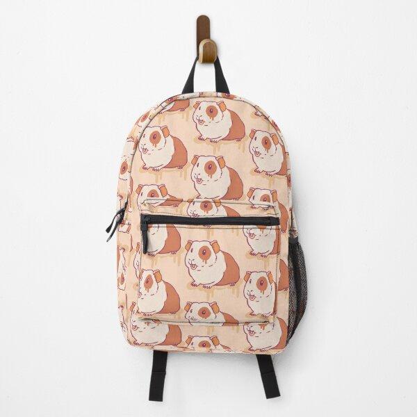 Guinea Pig Graffiti - Peach Beige Palette Backpack