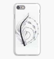 feather artwork iPhone Case/Skin