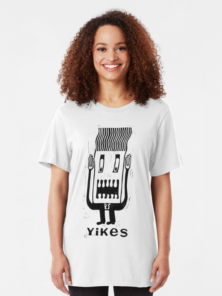 Alternate view of Yikes! Slim Fit T-Shirt