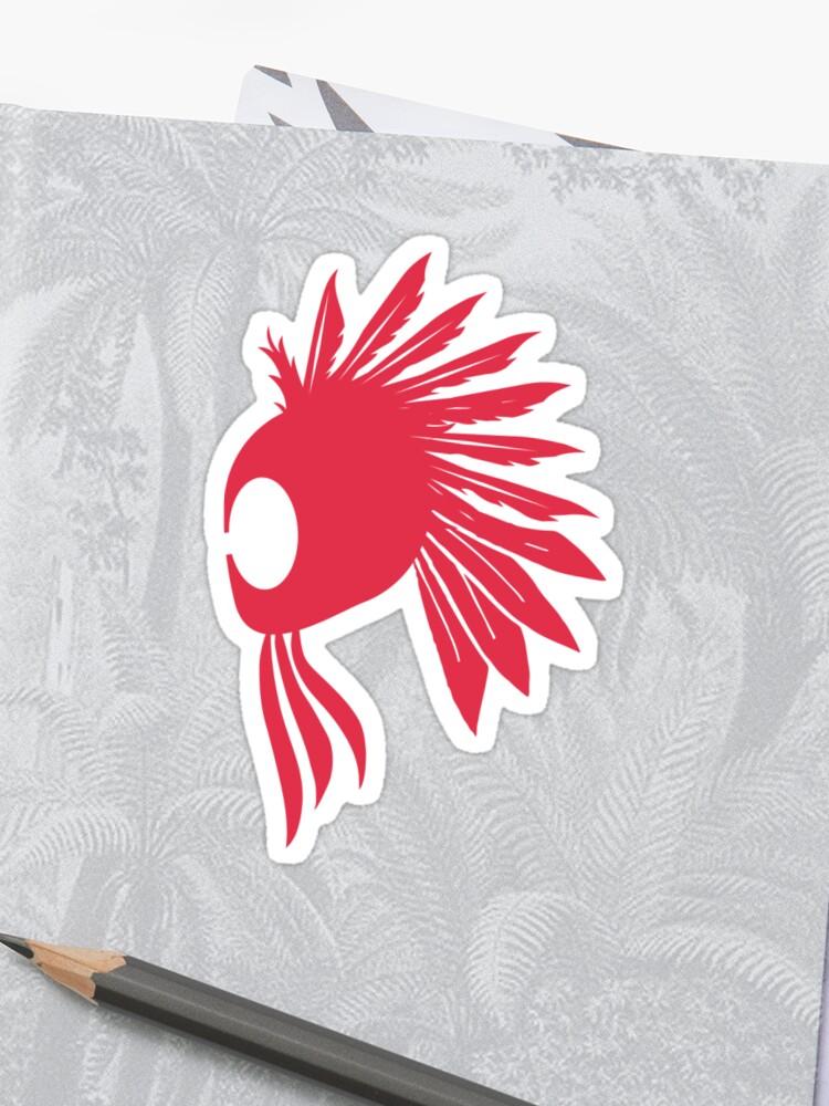 Ikaika Warrior Helmet #hepuakiko | Sticker
