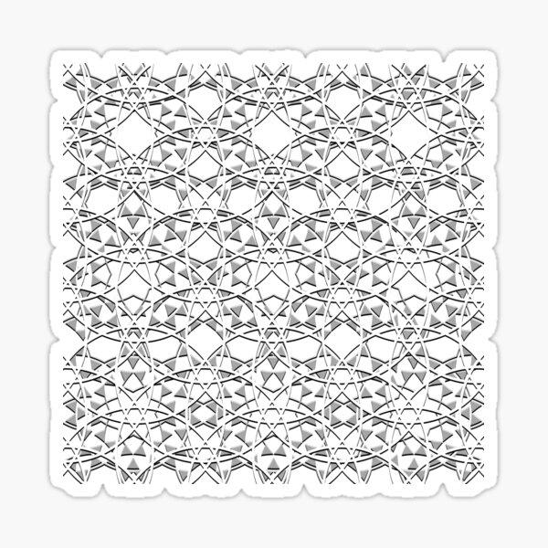 Mystic Pattern Design Sticker