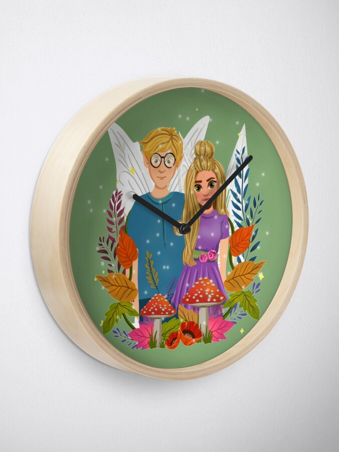 Alternate view of The Famous Tommy Tinker And Niece Susan™ Clock