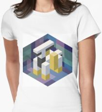 Arceus Voxel Womens Fitted T-Shirt