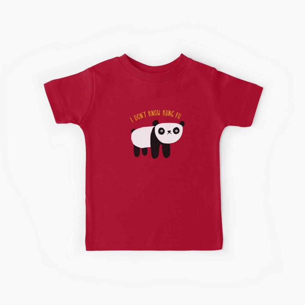 Regelmäßiger Panda Kinder T-Shirt