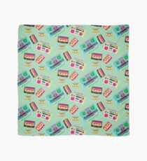 80's Music Boombox and Cassette tapes Scarf