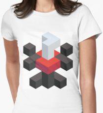 Voxel Darkrai Womens Fitted T-Shirt