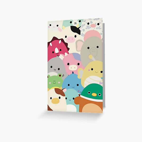 Squishmallows! Greeting Card