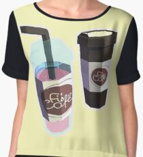 Stay Refreshed Chiffon Top