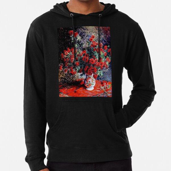 Claude Monet | Chrysanthemums | Monet Floral Fine Art  Lightweight Hoodie