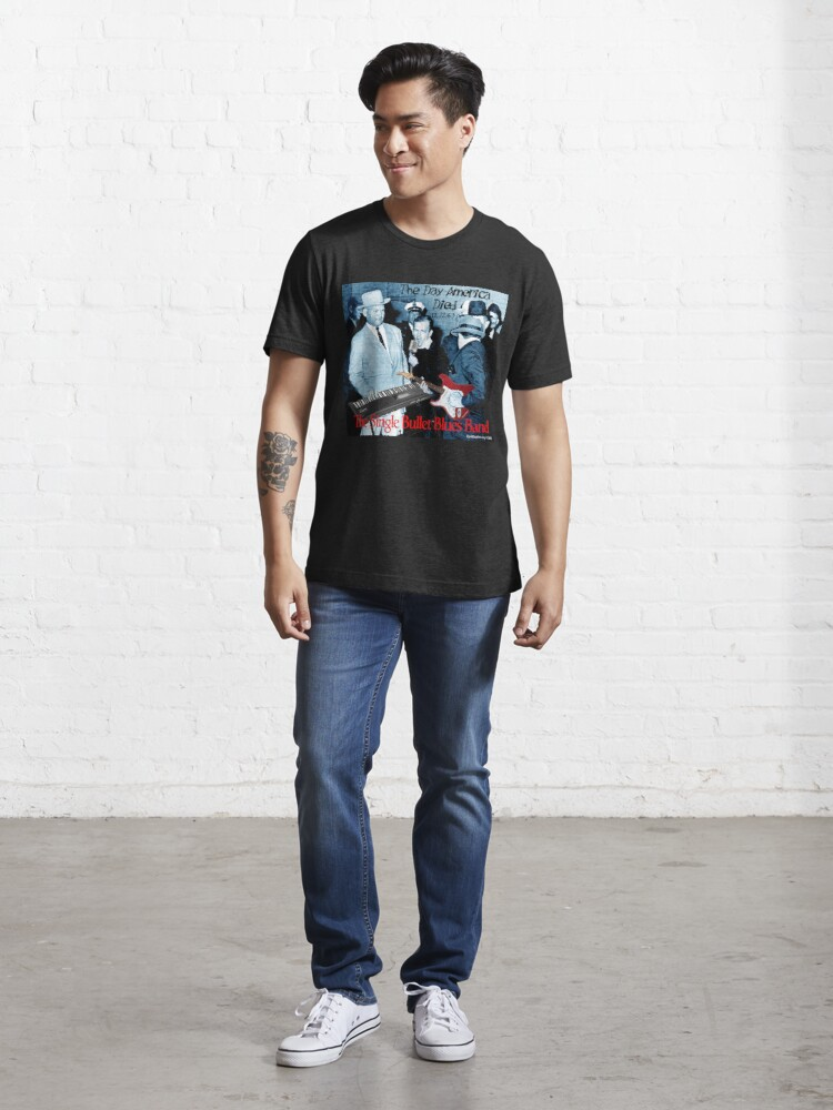 Alternate view of The Single Bullet Blues Band Essential T-Shirt