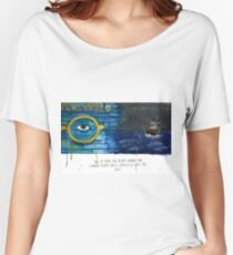 The Eyes of Dr. T.J. Eckleburg  Women's Relaxed Fit T-Shirt