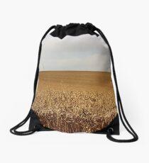 Golden Field Drawstring Bag