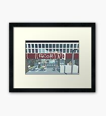The Eponymous Cafe Framed Print