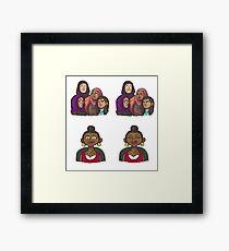 Femi + The Hijabi Girl Gang Framed Print