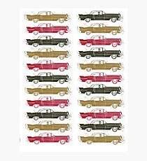 Cadillac Fleet Photographic Print