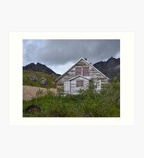 Abandoned Independence Mine (Wasilla, Alaska) Art Print