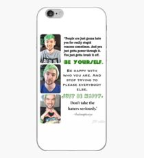 Jacksepticeye- Just Be Happy iPhone Case