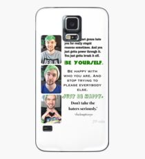 Jacksepticeye- Just Be Happy Case/Skin for Samsung Galaxy