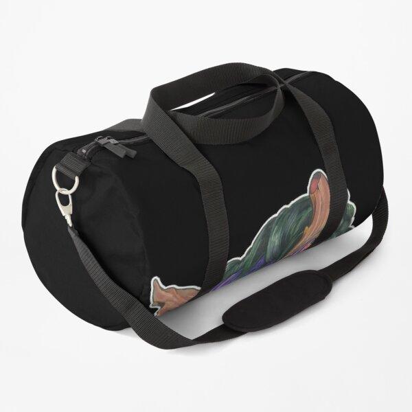 Purple Oni Duffle Bag