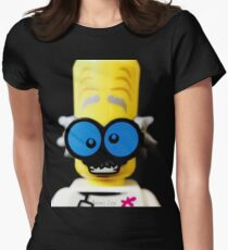 Lego Monster Scientist minifigure Womens Fitted T-Shirt