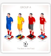 EURO 2016 Championship GROUP A Sticker