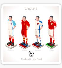 EURO 2016 Championship GROUP B Sticker