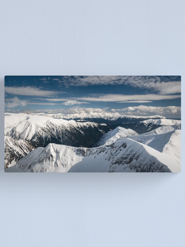 Alternate view of Just mountains Canvas Print