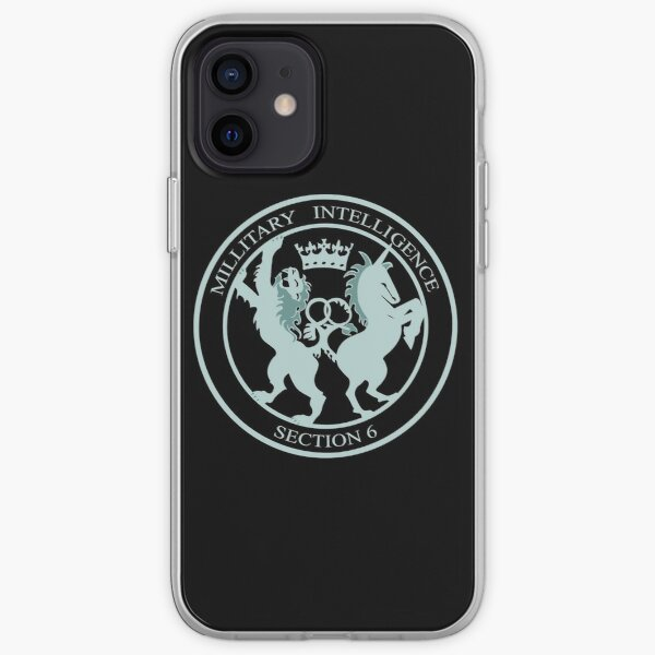 Military Intelligence, Section 6 iPhone Soft Case