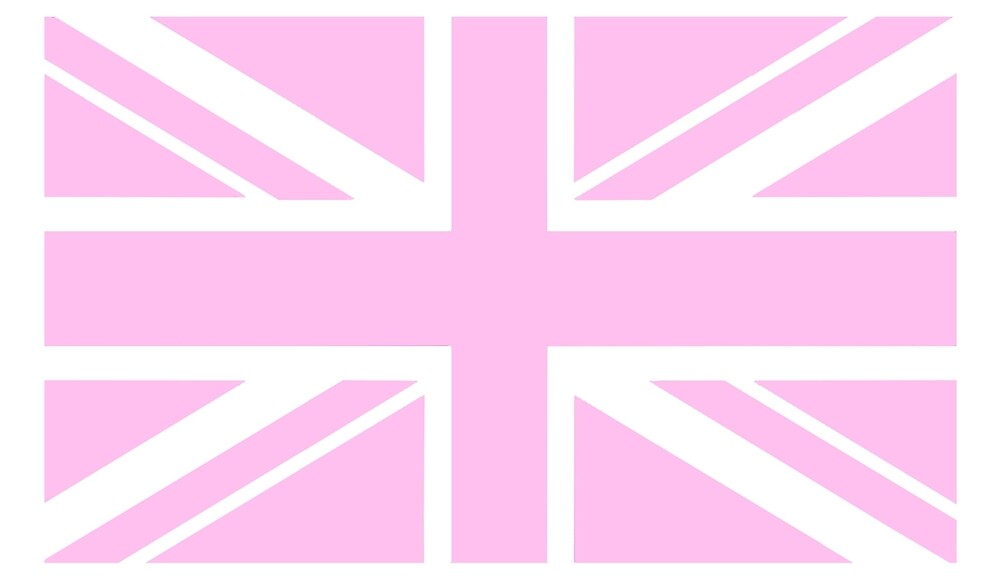 Pink union jack union jack in pink pink british flag for Pink union jack bedding