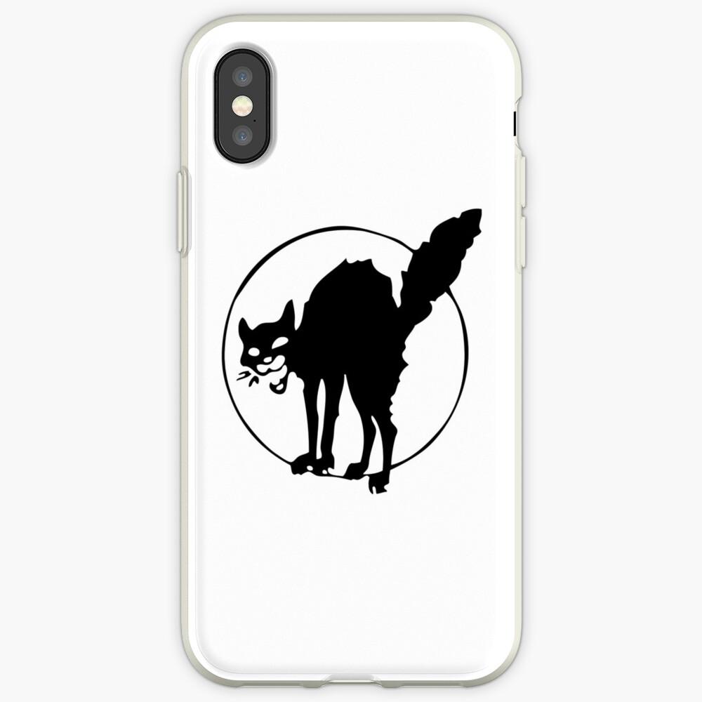 Anarchist black cat iPhone Case & Cover
