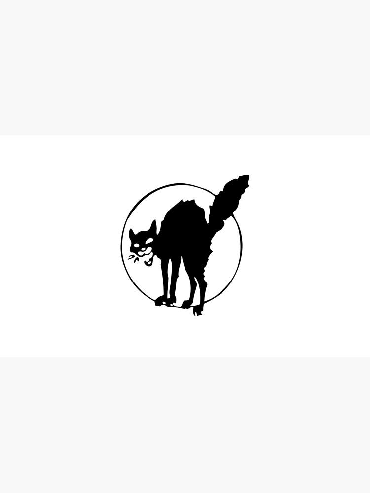 Anarchist black cat by Summerino