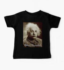 Albert, Einstein, Portrait, signature, Physicist, Genius, mathematician Baby Tee