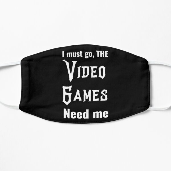 Typical gamer - cool gaming quotes Mask