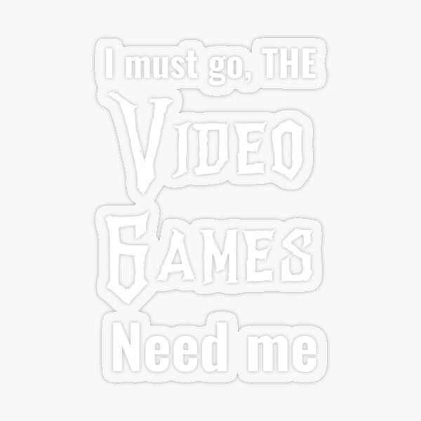 Typical gamer - cool gaming quotes Transparent Sticker