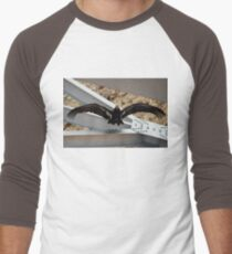 California Condor in the Wild 08 WingSpread Men's Baseball ¾ T-Shirt