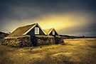 Old Huts by Svetlana Sewell