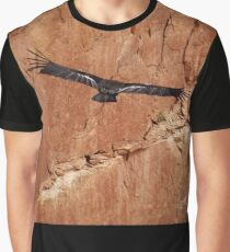 California Condor in the Wild 10 - In Flight Graphic T-Shirt