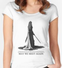 LEXA - May We Meet Again. (the 100) Women's Fitted Scoop T-Shirt