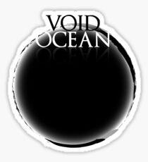Void Ocean Logo Sticker