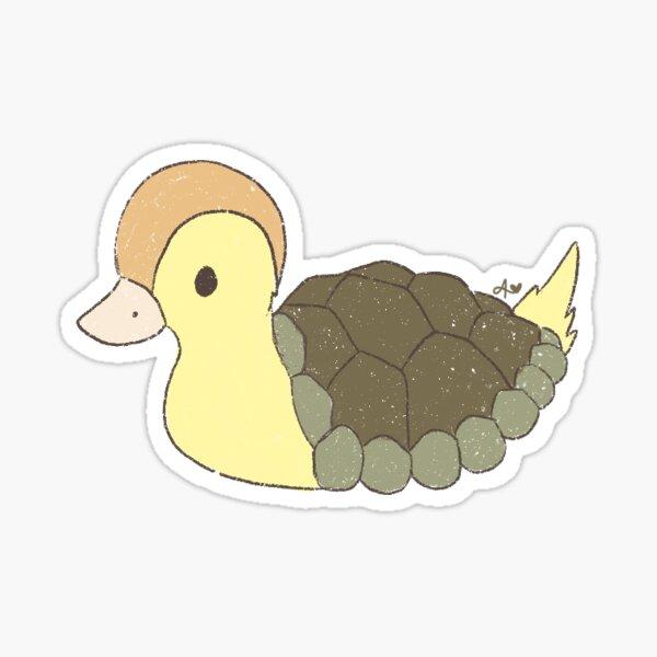baby turtle duck Sticker