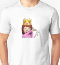 Emoji Queen Make it Rain Unisex T-Shirt