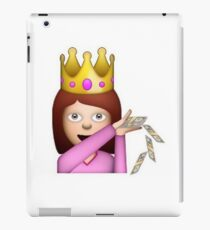 Emoji Queen Make it Rain iPad Case/Skin