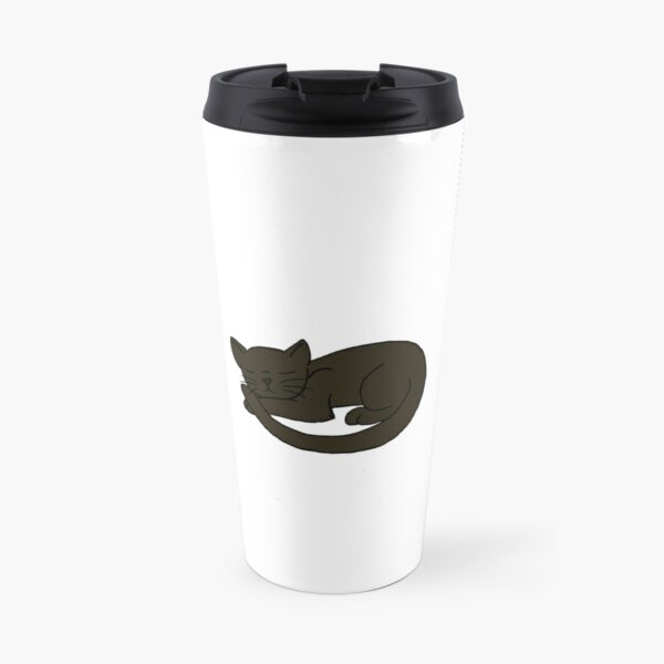 Three Little Black Cats Travel Mug