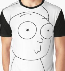 HUGE Morty Graphic T-Shirt