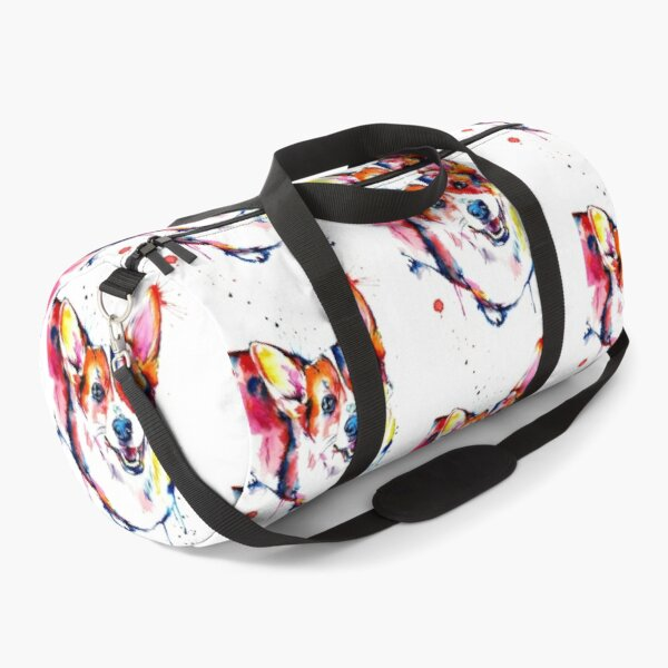 Corgi Art Duffle Bag