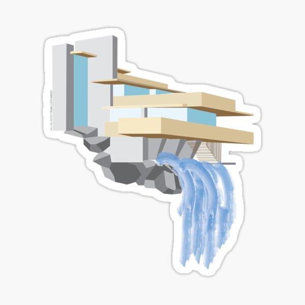 Fallingwater - Frank Lloyd Wright (1939) Sticker