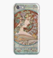 Alphonse Mucha - Ivy  iPhone Case/Skin