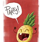 Epic Party Pineapple. by Jeff Crowther