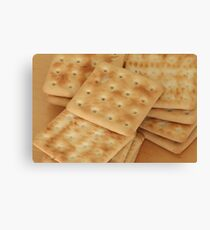 dry  biscuits cracker Canvas Print