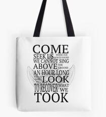 What lies beneath Tote Bag